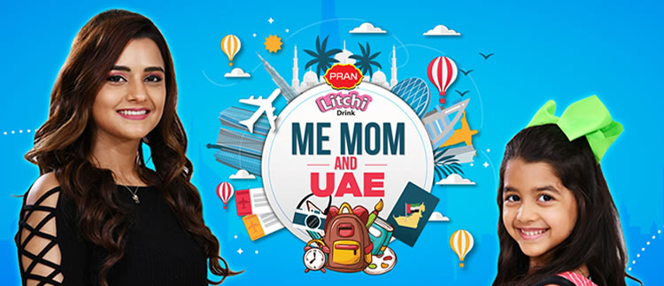 Me, Mom And UAE