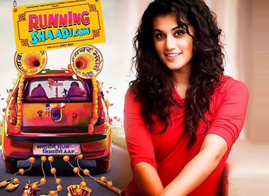 Taapsee Pannu On Starstop For Film RunningShaadi.C