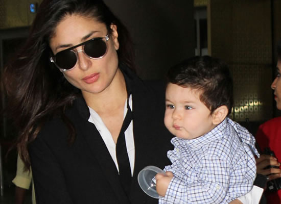 Taimur Ali Khan's special Christmas courtesy to mom-dad Saif and Kareena!