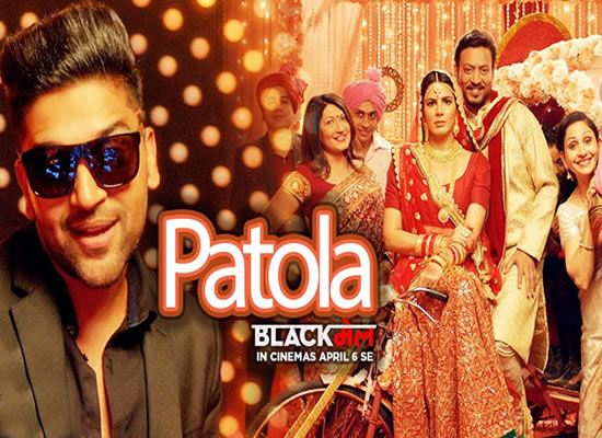 Patola song of film Blackmail at No. 2 from 6th April to 12th April!
