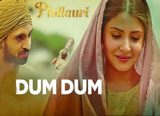 Dum Dum song of film Phillauri at No. 2 from 24th Feb to 2nd March!