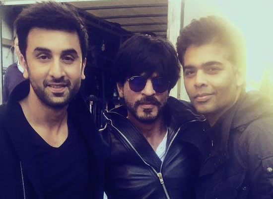 Karan Johar hasn't approached me for a film, with Ranbir or without him, says SRK!