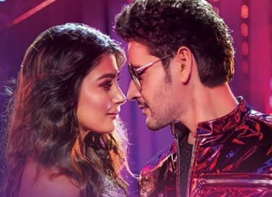 Mahesh Babu and Pooja Hegde's sizzling chemistry in the latest poster of Maharshi!