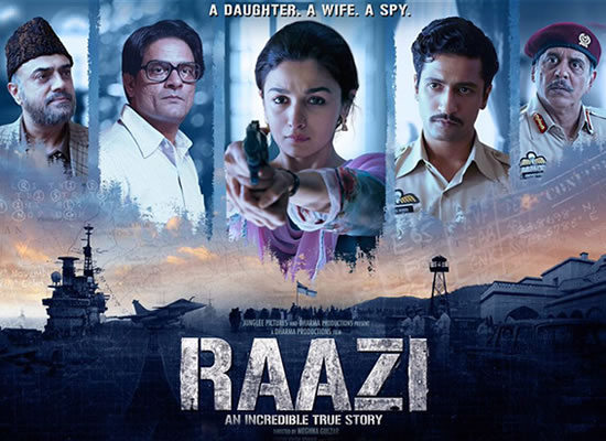 Film Raazi's soundtrack is situational one and fair enough with a patriotic number Ae Watan!