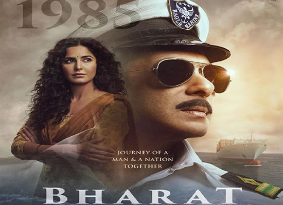 Salman Khan salutes the nation as a Marine in Bharat's fourth poster!