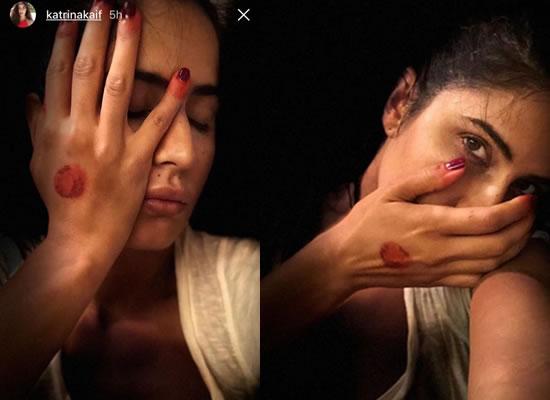 Katrina Kaif flaunts mehendi on her hands!