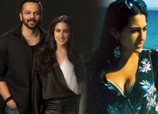 Sara Ali Khan is a combination of Karisma and Kareena, says director Rohit Shetty!