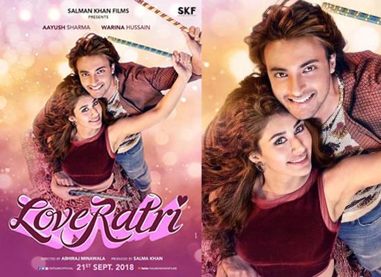 Aayush Sharma-Warina Hussain starrer Loveratri's new poster!