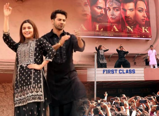 Varun Dhawan and Alia Bhatt to perform atop Gaiety cinema in Mumbai!