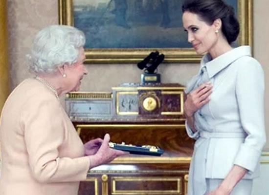 Angelina Jolie's admiration for Queen Elizabeth II inspired new documentary!