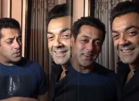 Now Salman to become 'Mamu Jaan' for Bobby Deol!