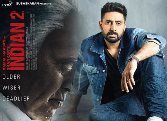 Abhishek Bachchan to star in Shankar's Indian 2?