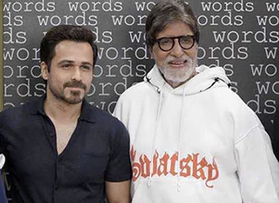 IT'S A GAME FOR BIG B AND EMRAAN!