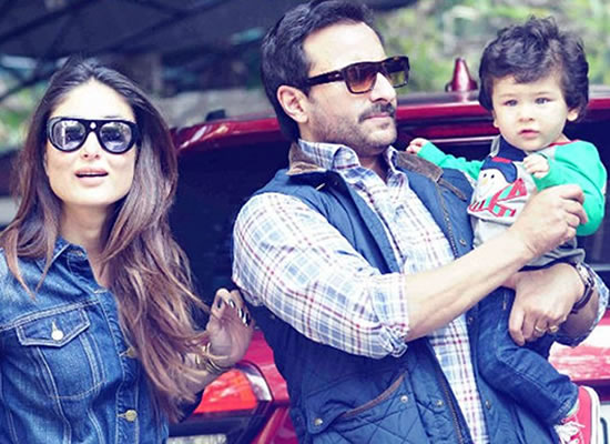 Watching Taimur walk for the first time is like watching a drunk baby, says Saif Ali Khan!