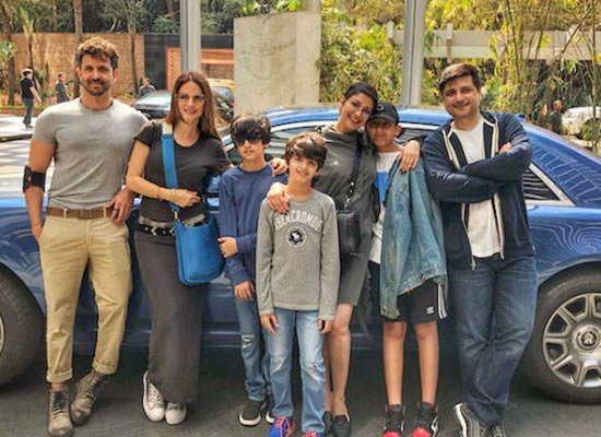 Sonali Bendre to enjoy Sunday lunch with hubby Goldie Behl, Hrithik and Sussanne!