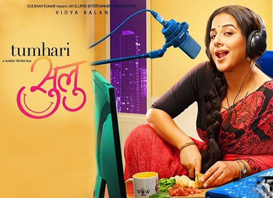 The soundtrack of Tumhari Sulu is an average one with a tuneful song Hawa Hawai 2.0.