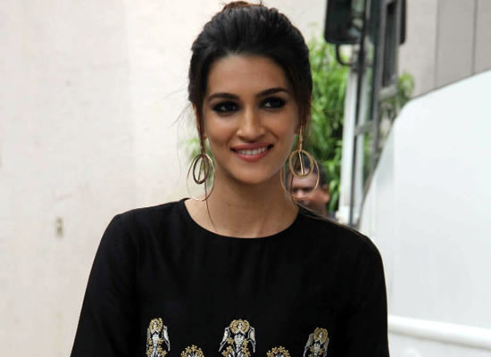 I don't want to limit myself as an actor to just one genre, says Kriti Sanon!