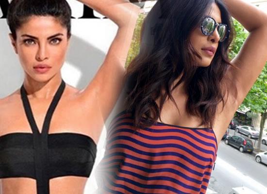Priyanka Chopra flaunts her armpits in real after