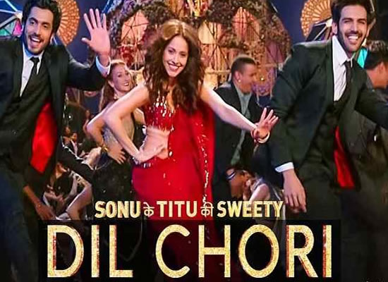 Dil Chori song of film Sonu Ke Titu Ki Sweety at No. 2 from 5th Jan to 11th Jan!