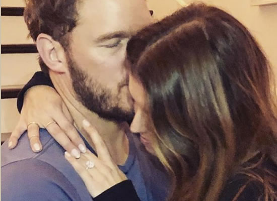 Marvel star Chris Pratt announces engagement to Katherine Schwarzenegger!