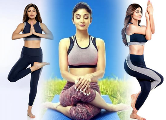 I want to be connected with my soul, says Shilpa Shetty on International Yoga Day!