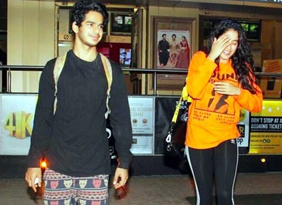 Janhvi is quite notorious, says Ishaan Khatter on Dhadak's co-star!