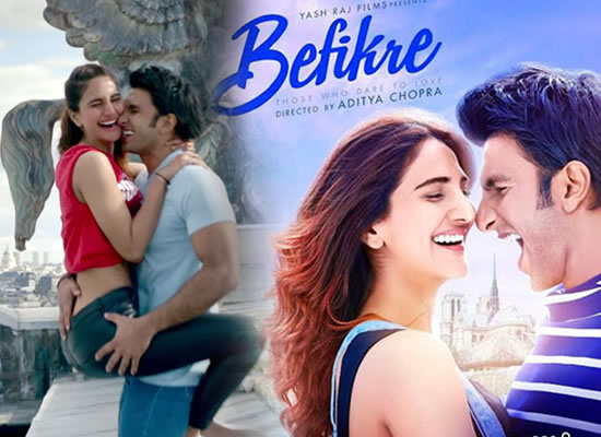 Befikre's songs are melodious enough but not the best one from Aditya Chopra's team!