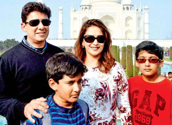I didn't take up too much work earlier because my kids were young, says Madhuri Dixit!