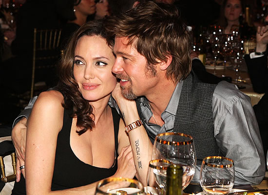Are Brad Pitt and Angelina falling back in love?