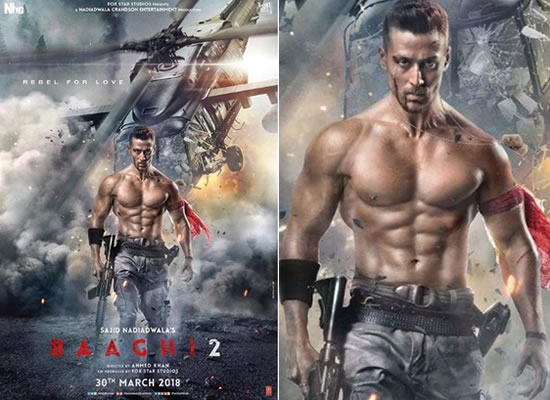 Tiger Shroff's action avatar in the Baaghi 2!