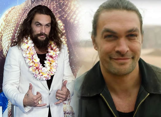 Jason Momoa aka Aquaman shaves off his beard for the planet's sake!
