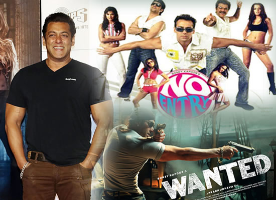There is no No Entry or Wanted sequel happening, says Salman Khan!
