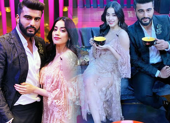 Suddenly I feel like I've known her all my life, says Arjun Kapoor about half-sister Janhvi!