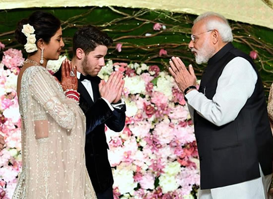 Priyanka Chopra's heartfelt thank you to Prime Minister for gracing her wedding reception!
