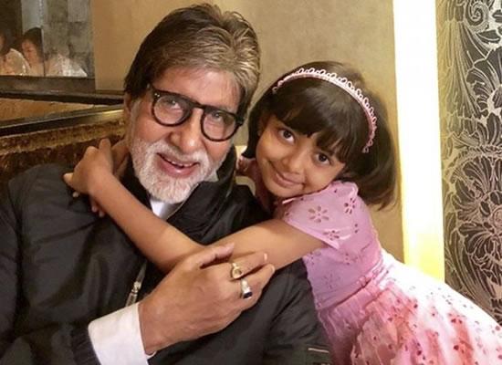 Big B's enjoyable moments with granddaughter Aaradhya!
