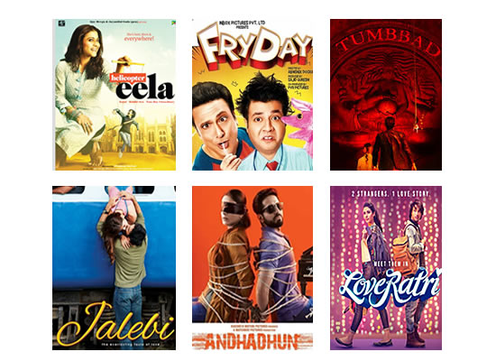 Latest Box Office for this week till 18th October, 2018!