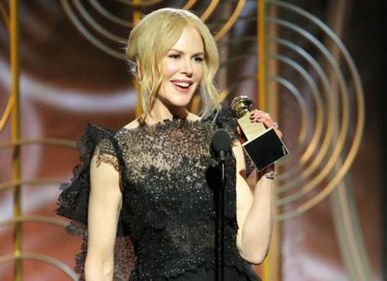 Wow, the power of women, says Nicole Kidman on winning the Golden Globe Award 2018!