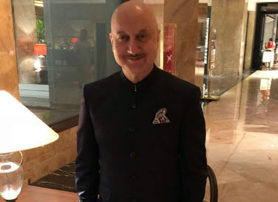ANUPAM DOES US PROUD!