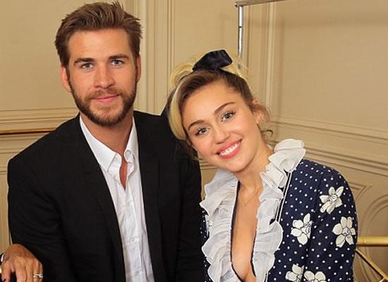 Are Miley Cyrus and Liam Hemsworth already wedded?