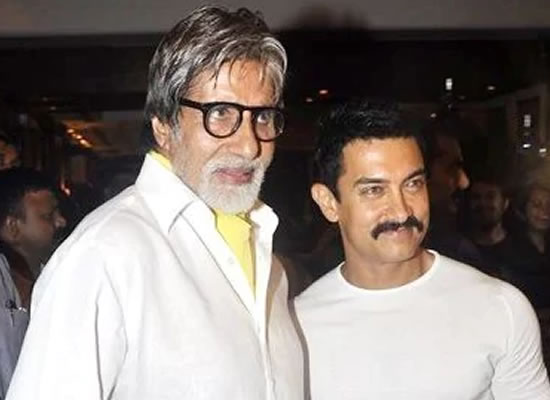 Every nuance of his acting was a fulfilling experience in cinema, says Aamir on Big B!