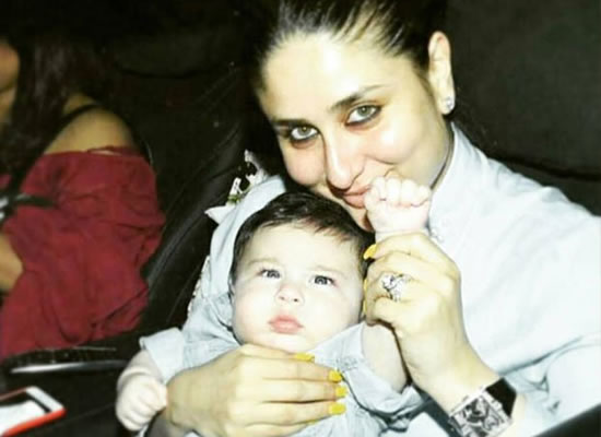 The biggest trendsetter of the year is my baby Taimur, says Kareena Kapoor Khan!