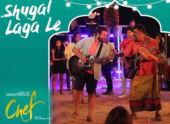 Shugal Laga Le Song of film Chef at No. 4 from 29th Sept to 5th Oct!