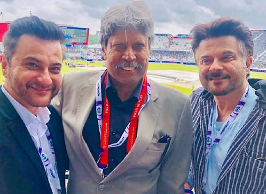 Anil Kapoor and Sanjay Kapoor's fan moment with legendary Kapil Dev!
