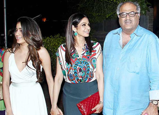 Jhanvi wants a man just like her daddy Boney Kapoor, says Sridevi!