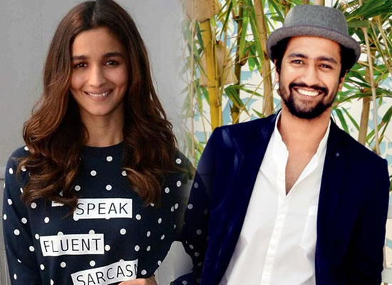 Alia and Vicky start working on their character for Meghna Gulzar's next!