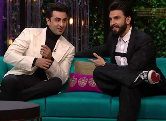 Ranveer Singh is my favourite actor, says Ranbir Kapoor!