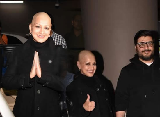 Sonali Bendre to return Mumbai after undergoing treatment for cancer in New York!