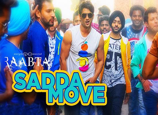 Sadda song of film Raabta at No. 2 from 12th May to 18th May!