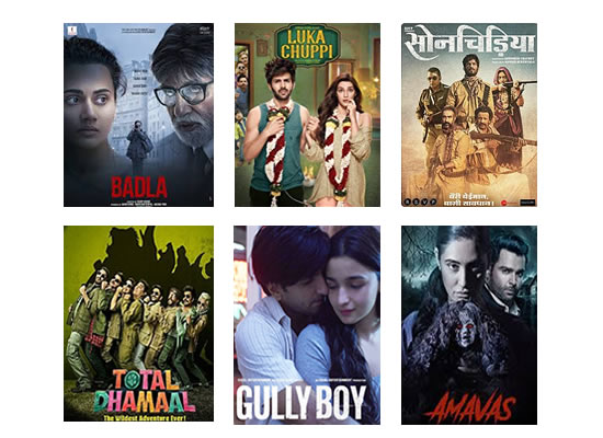 Latest Box Office for this week till 11th March, 2019!