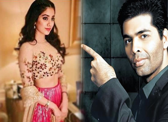 Jhanvi Kapoor to sign a three-film deal with filmmaker Karan Johar?